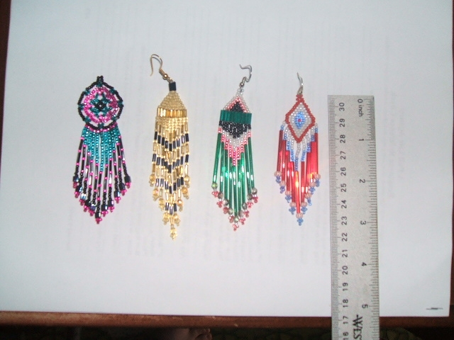 large earings